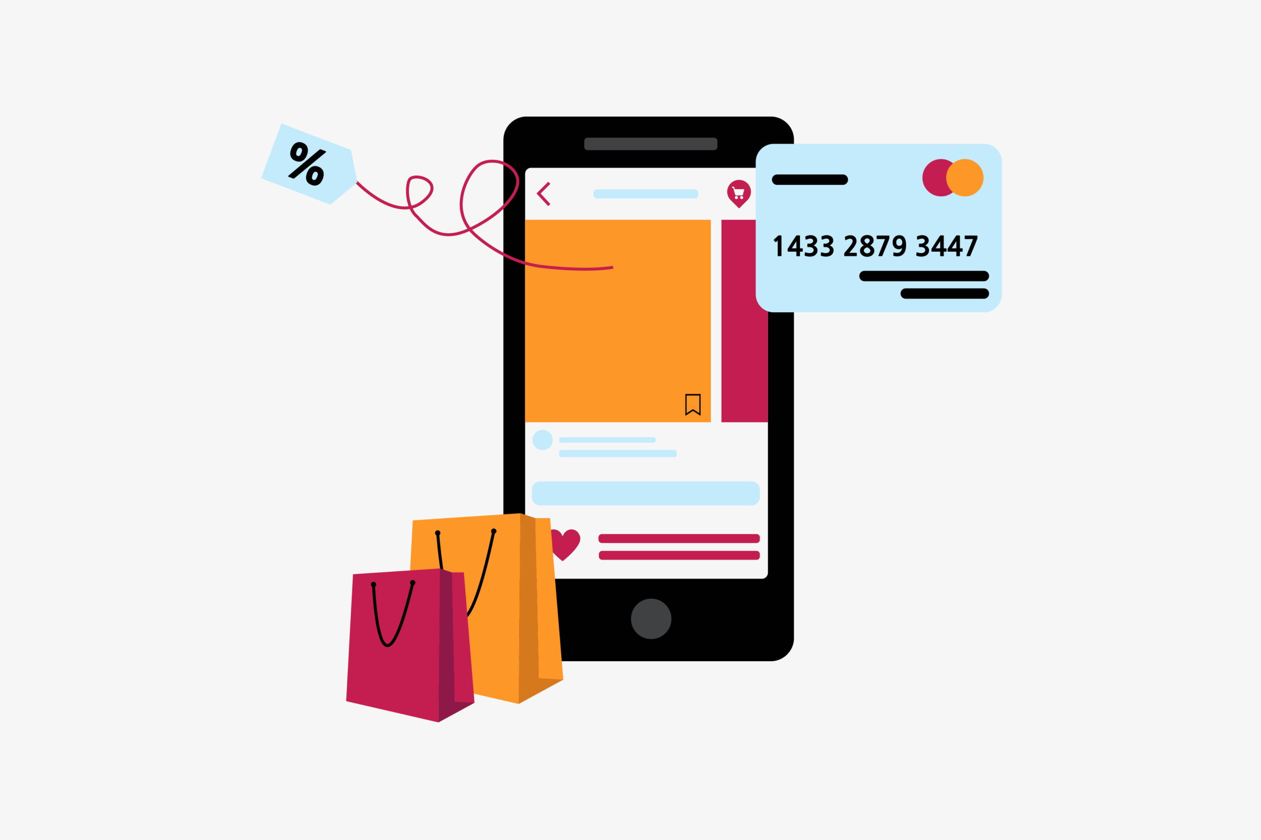 Generating sales via social media