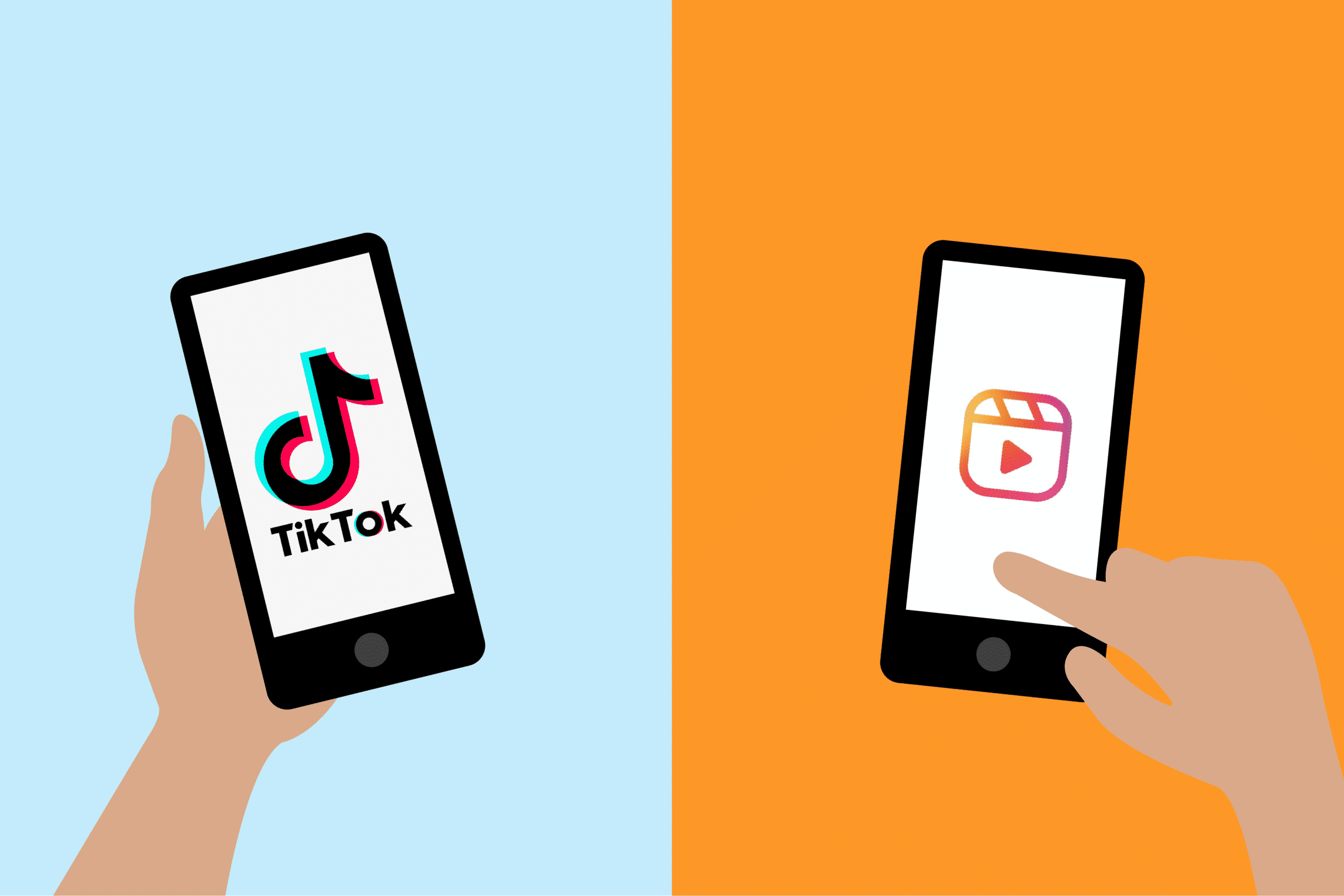 From Tiktok to IG Reels
