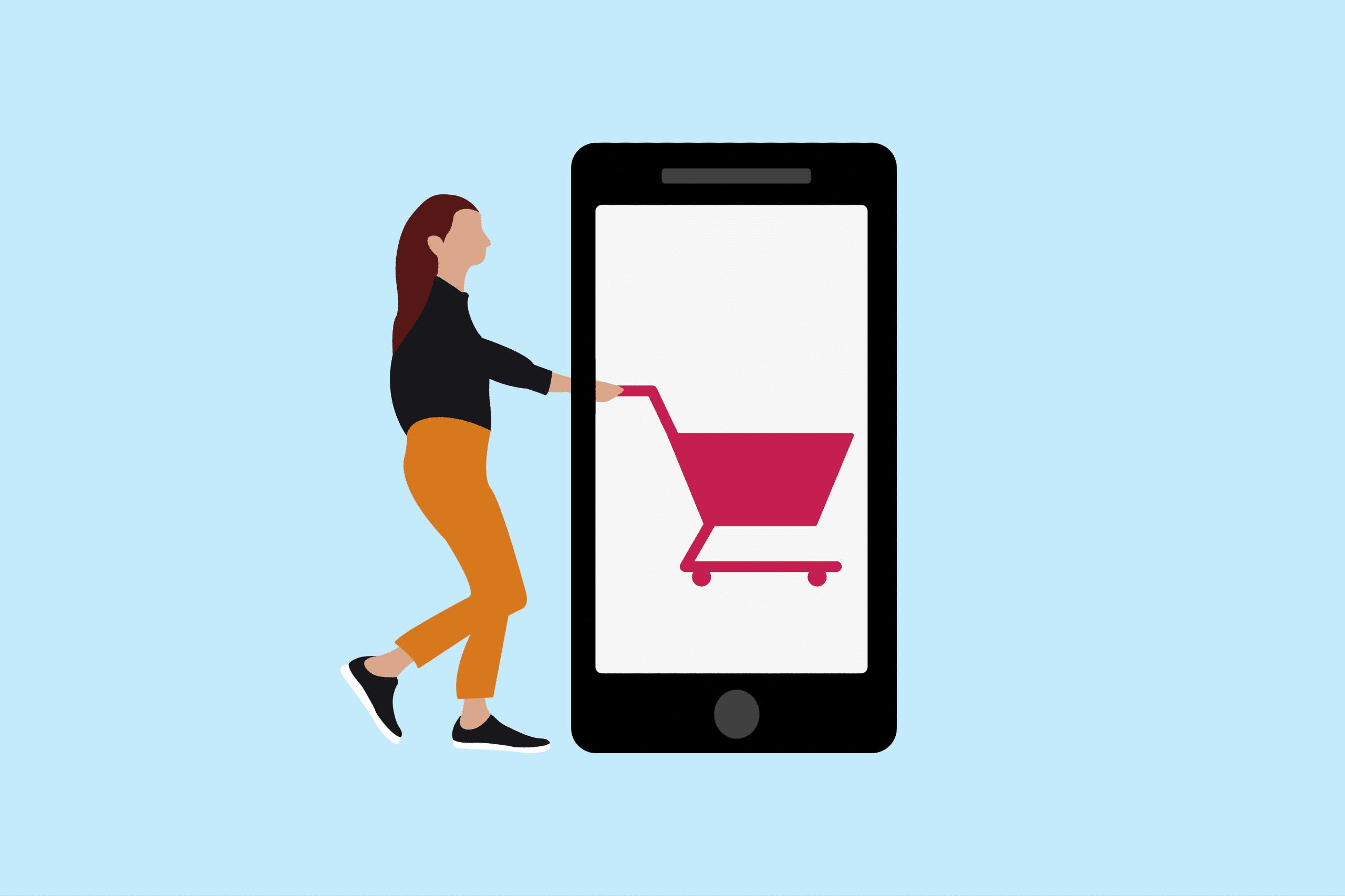 Sale cart - Generating sales via social media
