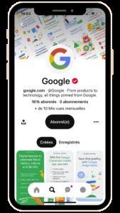 Google Pinterest
